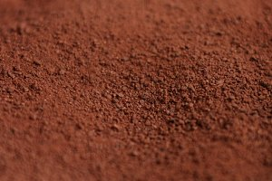 chocolate powder texture