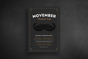 Movember Event Flyer