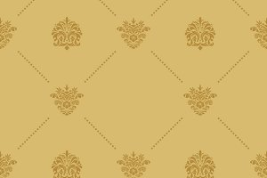 Seamless pattern decoration