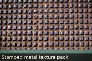 Stamped Metal Texture