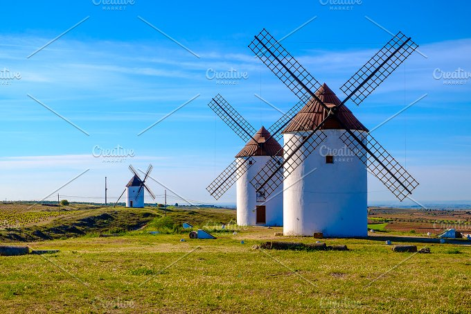 Windmill. Spain - Architecture