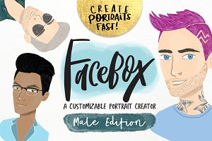FaceBox Portrait Creator Male