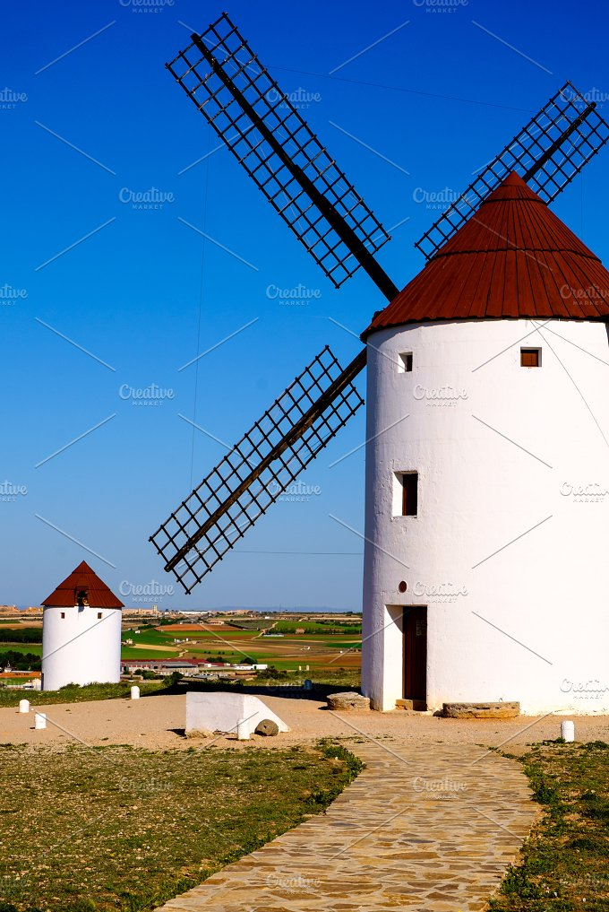 Windmill. Spain - Architecture