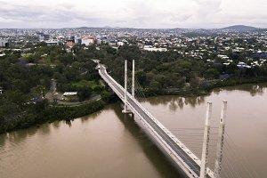 View of the Eleanor Schonell Bridge