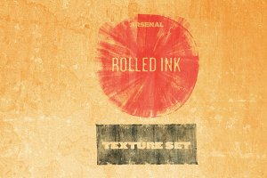 Rolled Ink Texture Pack