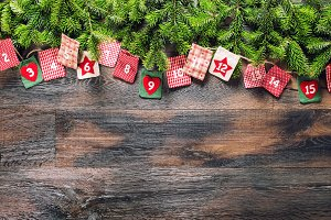 Advent calendar Christmas gifts
