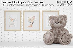 Frames Mockups - Nursery Frames