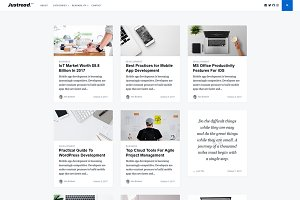 Justread - A WordPress Blog Theme