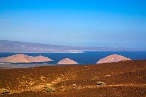 Gulf of Tadjoura, Ghoubet lake and diable island Djibouti