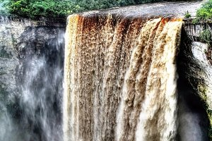 Kaieteur waterfall, potaro river, Guyana