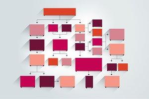 Fowchart, chart, infographic