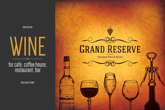 Wine list template for restaurant brochure templates creative wine list template for restaurant brochures pronofoot35fo Images
