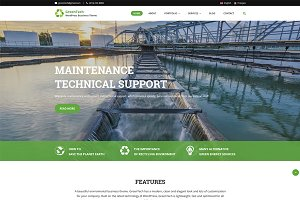 GreenTech - WordPress Business Theme