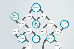 Flowchart, infographics