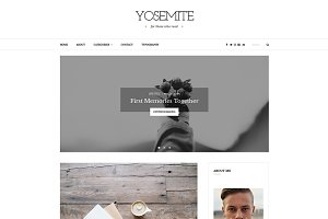 Yosemite - A WordPress Blog Theme