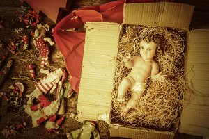Christmas decoration, Baby Jesus
