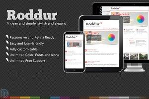 Roddur- Multipurpose Responsive WP