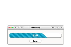 Downloading bar browser window