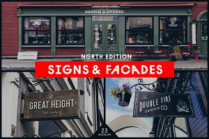 Signs&Facades Mockups North Edition
