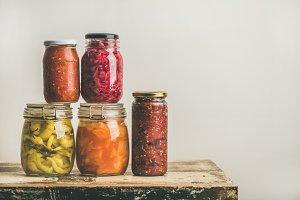 Autumn seasonal pickled