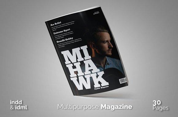 Mihawk Magazine (2017 Editi-Graphicriver中文最全的素材分享平台