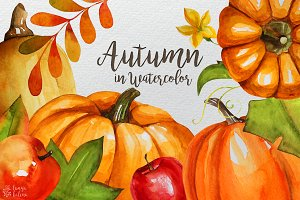 Autumn in Watercolor