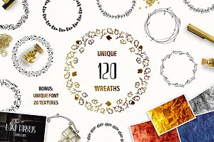 120 Unique Wreaths
