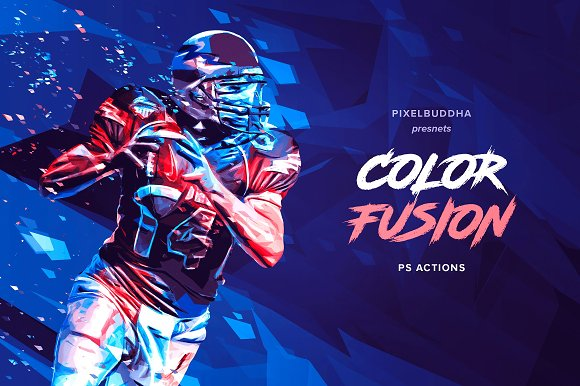Color Fusion Photoshop Acti-Graphicriver中文最全的素材分享平台