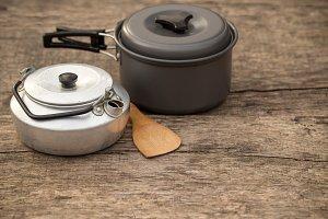 Outdoors pot