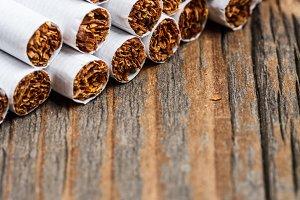 Stack of cigarette