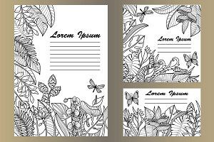Tropical Coloring Mock Up