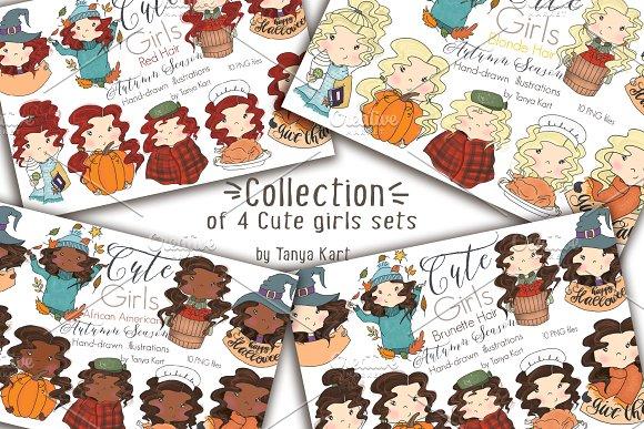 Autumn Planner Girls Collection