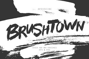 BrushTown - Over 100 Ink Brushes