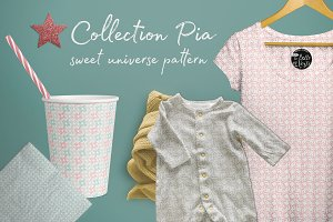 Collection Pia Vegetal pattern