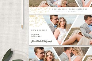 Wedding Facebook Timeline Cover Set
