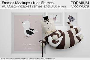 Frame Mockups / Nursery Mockups