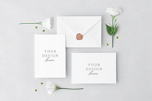 Invitation Cards & Envelope
