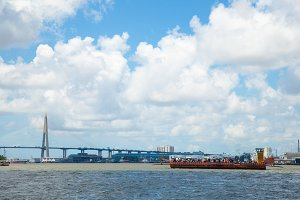 Bhumibol Bridge.