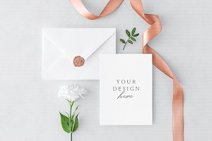 Invitation Card & Envelope