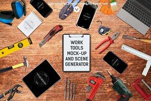 Work Tools Mock-up / Scene Generator