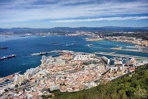 Gibraltar City and Bay