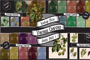 Vintage Canvas Paper Textures 1