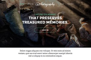 Photography - Responsive Template