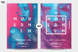 2in1 MODERN Flyer Template