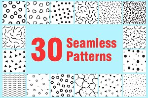 30 Seamless Patterns