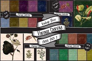 Vintage Canvas Paper Textures 2