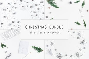 Christmas silver bundle