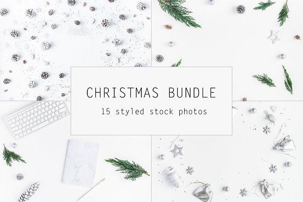 Christmas silver bundle