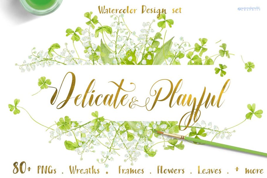 Delicate&Playful-for wedding suites in Illustrations - product preview 8