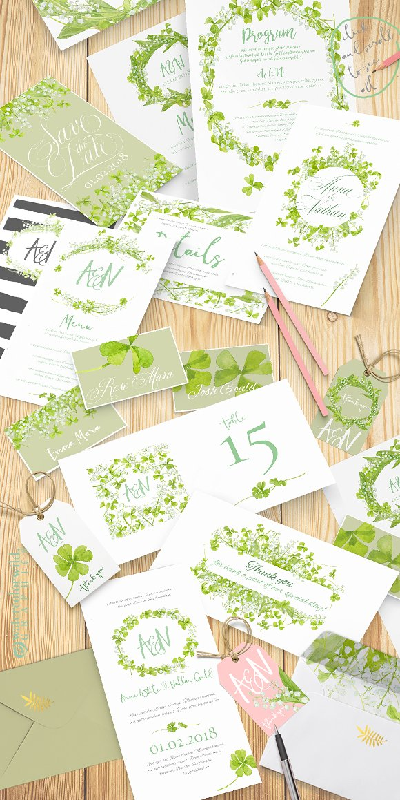 Delicate&Playful-for wedding suites in Illustrations - product preview 1